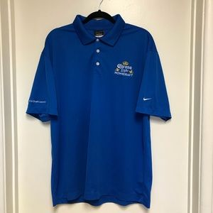 Nike Golf Dri-Fit Men's Polo Shirt Size Large